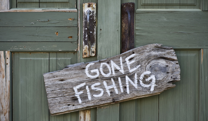 fishing for new customers